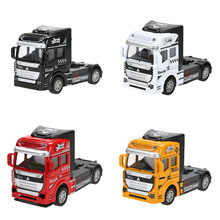 Buy 1:32 Scale Alloy Truck Head Pull Back Car Toys Car Children Racing Car Baby Mini Cars Cartoon Pull Back Truck Kids Toys Boy Gift for $4.09 in AliExpress store