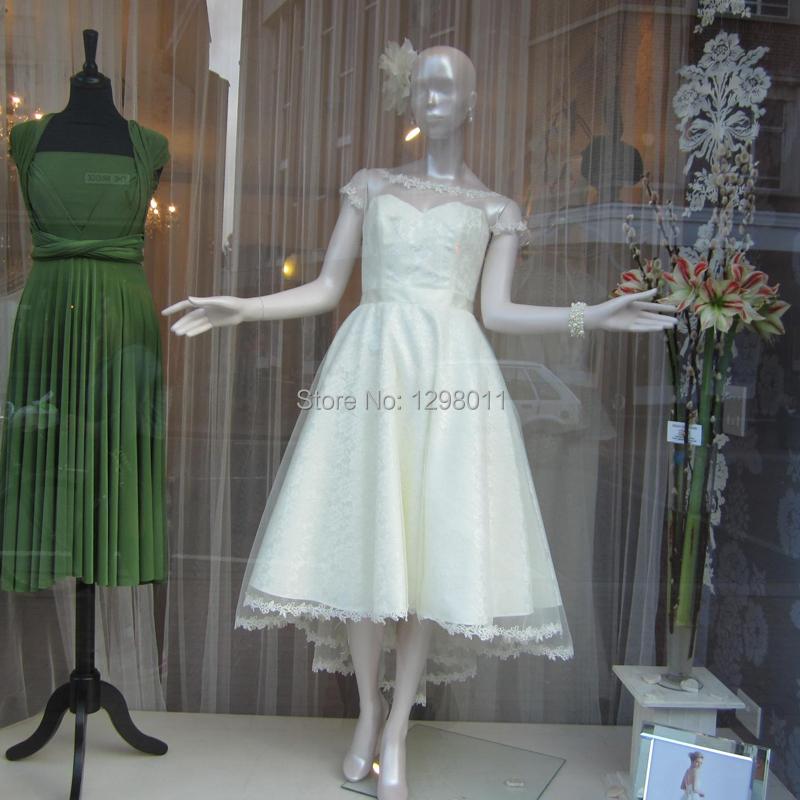 2015 spring cute bonnie white organza wedding dress short for Short spring wedding dresses
