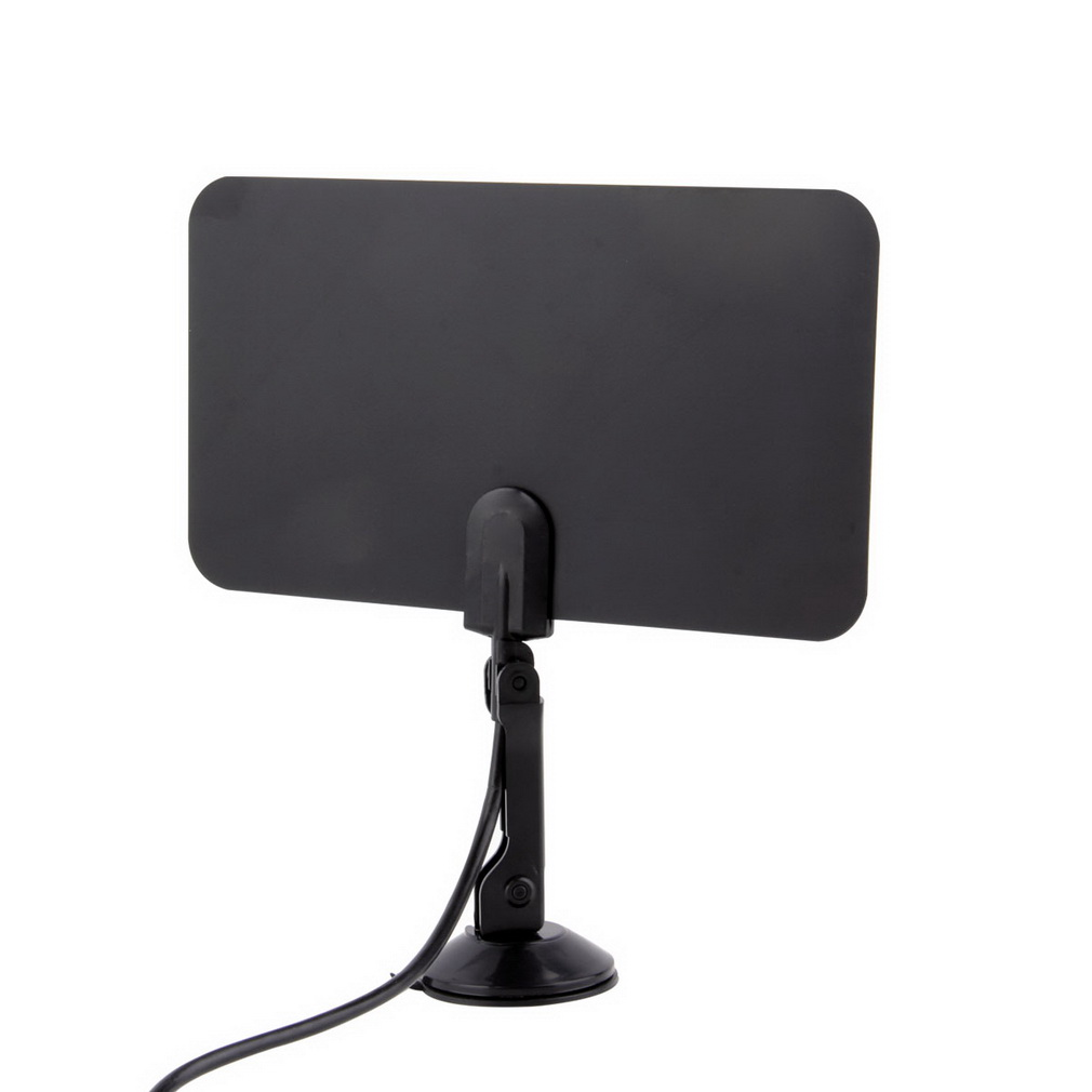 Digital Indoor TV Antenna HD Flat Design High Gain HD TV DTV Box 54MHz-860MHz High quality Promotion  Wholesale Store<br><br>Aliexpress