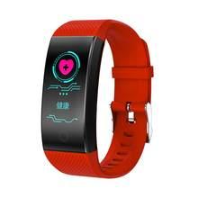Hembeer Fitness Tracker สุขภาพสร้อยข้อมือผู้ชายผู้หญิงการวัดความดันโลหิตสมาร์ทกีฬานาฬิกาสำหรับ iPhone Xiaomi Huawei(China)