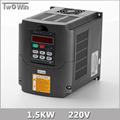 1 5KW Inverter 1 5kw HY VFD Spindle Inverter 220V 1 5kw Frequency Drive Inverter Machine