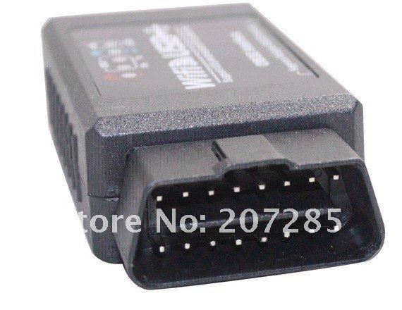 2012 Newest wholesale Price WIFI327 WIFI USB OBD2 EOBD Scan Tool Free Shipping
