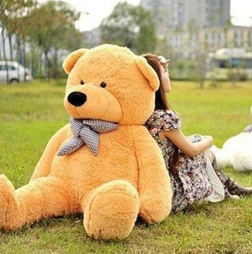 Free Shipping 120cm big yellow teddy bear giant 4colors plush toys stuffed toy kid doll gift(China (Mainland))