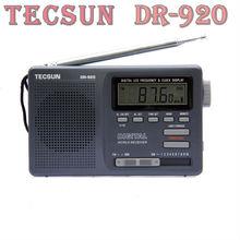 TECSUN DR-920 DIGITAL DISPLAY DIGITAL FM AM MW SW MultiBAND RADIO DR920
