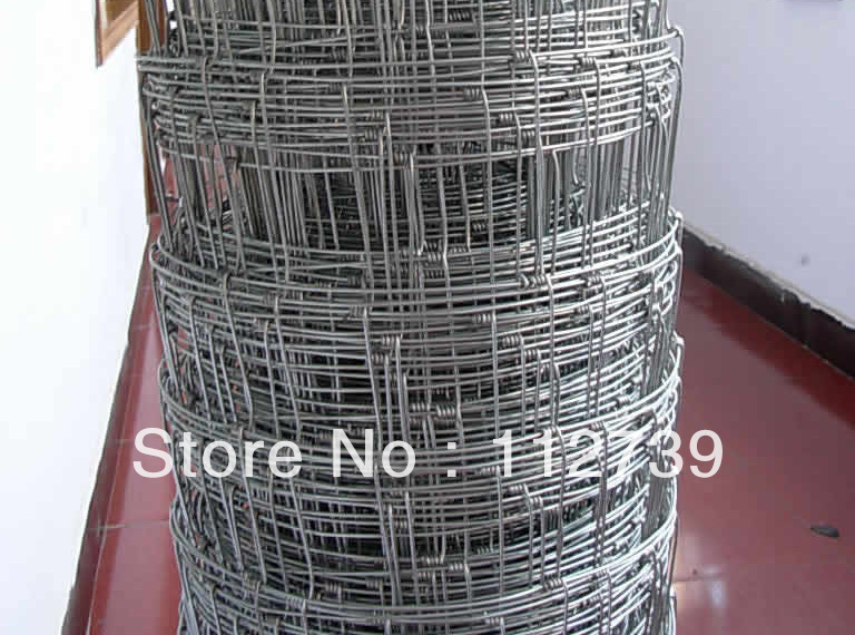 Roll m galvanized field fence wire or low