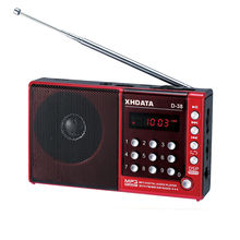 ( new arrival ) XHDATA D-38 FM-Stereo / MW / SW / MP3-Player / DSP Vollband Radio D38(China (Mainland))