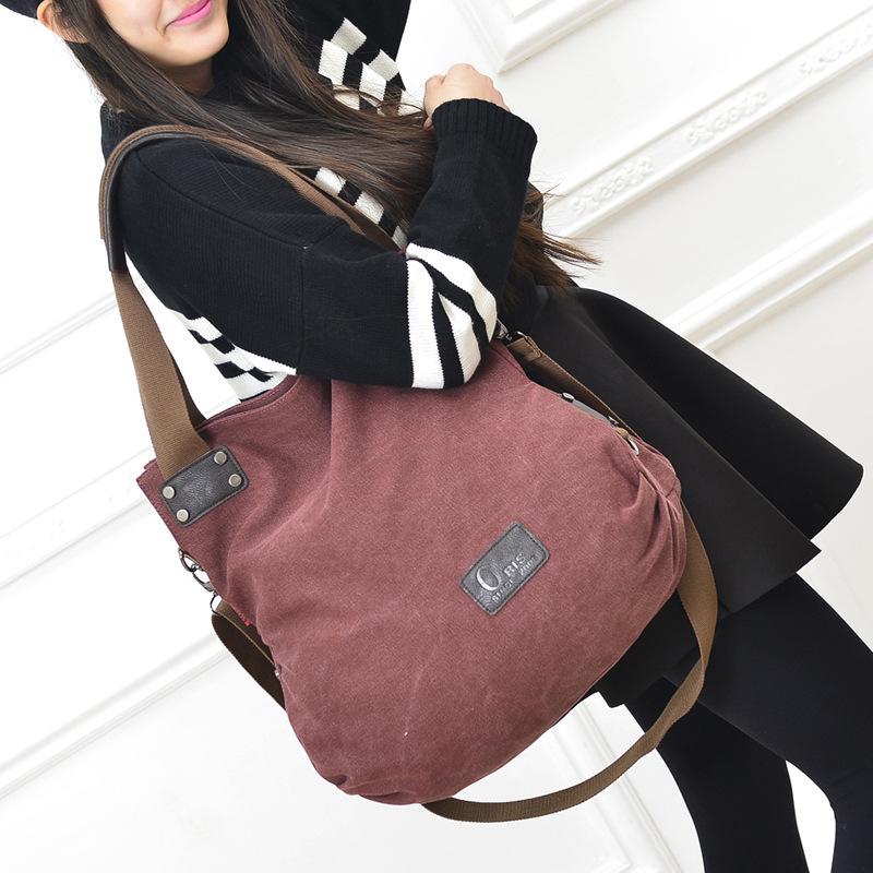 2015 Retro fashion canvas handbag women bag handbags leisure canvas handbag shoulder bag big bag tide  women Messenger bags<br><br>Aliexpress