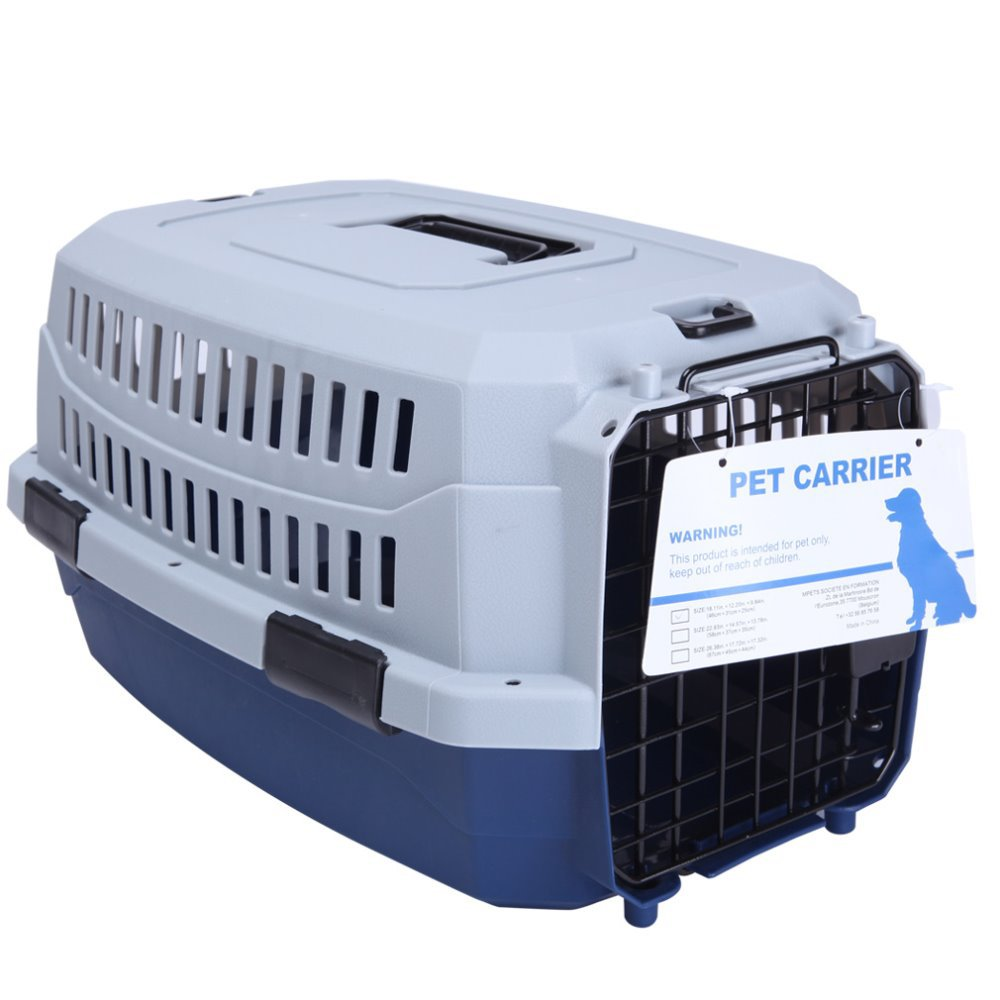 PetsMall Supper Small Pet Carrier Box Deep Blue(China (Mainland))
