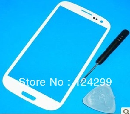 White Replacement Screen Glass Lens for Any Samsung Galaxy S3 III i9300 & Tools