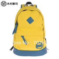9 Colours Choices Double Shoulder Backpacks Girl/Boy School bag preppy style For travle laptop bag in  canvas