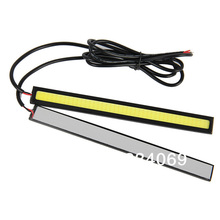 COB 2pcs/lot 17CM Universal Car Daytime Running Light DRL Fog Driving Lamp LED Headlight 12V 84LEDs White(China (Mainland))