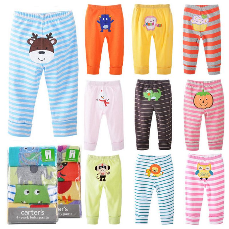 2015 Hot Embroidered PP Pants Baby Set [4pcs] Trousers Kid wear Inexpensive Pants Autumn/Spring Baby Cotton Children's Clothes(China (Mainland))