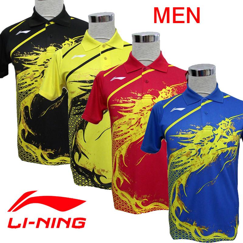 LI-Ning Table Tennis Men's Dragon Shirt , Sports Clothes / Table Tennis Clothes(China (Mainland))
