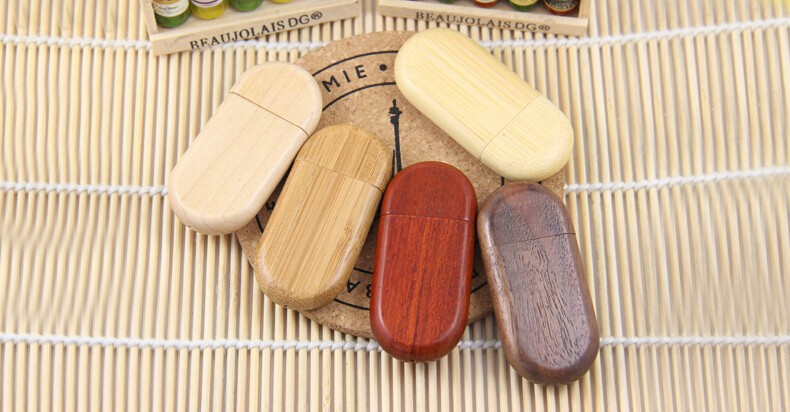 HOT!Wooden personality creative gift customized wood USB flash drive u disk USB2.0 flash drive Hot selling 1G 8GB 16GB 32GB 64GB(China (Mainland))