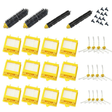 free post new Filters Brush 3-armed Side screws Kit for iRobot Roomba 700 Series 760 770 780