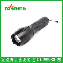 3800 Lumens 500 Meters XML-T6 tactical LED flashlight Zoom Outdoor Riding Flashlights 5-Mode Light for AAA/18650 Battery 8060(China (Mainland))