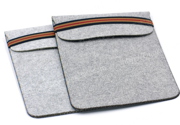 Microsoft Surface Pro3 Case,Vintage Sleeve Pouch Genuine wool felt Case For Microsoft Surface Pro3/4 12.2 inch laptop bag(China (Mainland))