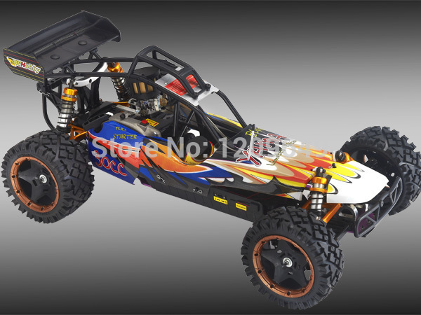 """RC CAR """"BAJA"""" 1/5 AWHOBBY 30CC gasoline 2WD remote car high speed stunt toy Competition level car Free shopping"""
