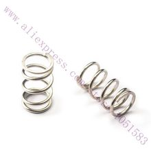 10pcs/lot 3D Printer reprap makerbot replicator2 Extruder Strong Springs OD:9mm, Diameter of Spring:1mm