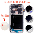 High Quality White LCD Display Digitizer Touch Screen Glass Replacement Assembly for S4 IV I9505