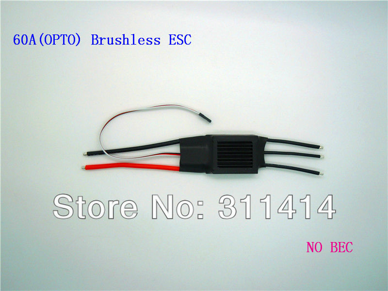 3pcs/lot ESC 60A(OPTO) Electronic Speed Controller For Brushless Motor Aircraft + Free Shipping By EMS Fast Delivery Wholesale(China (Mainland))