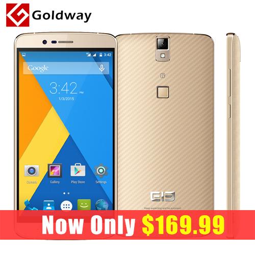 Original Elephone P8000 MTK6753 5.5 inch Mobile Phone Octa Core FHD Screen 3GB RAM 16GB 13MP Fingerprint ID Android 5.1 Lollipop(Hong Kong)