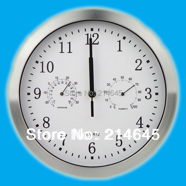 M1 10inch wall clock with mute creative good quality movement and free shipping