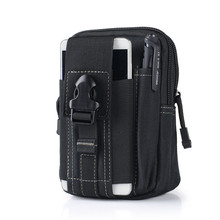 Gute Verwendung D30 Tragbare Outdoor Militärische Taktische Gürtel Taille Taschen Männer Wasserdichte Nylon Handy Brieftasche Reise Sport Hüfttasche(China (Mainland))