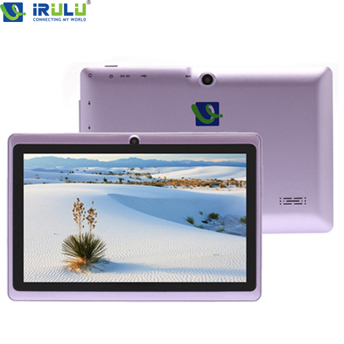 "IRULU eXpro 7"" Tablet PC Quad Core 8GB/16GB ROM Android 4.4.2 1024*600 HD Dual Cam 2.0MP Support 3G WIFI 2015 New(China (Mainland))"