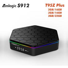 Buy Original T95Z Plus 3GB 16GB 3GB/32GB Amlogic S912 Android 6.0 TV Box Octa Core Kodi 16.1 Fully Loaded 5G Wifi 4K kodi Top Box for $61.47 in AliExpress store