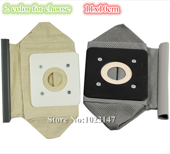 2 Color for Choose ! Vacuum Cleaner Bags 11x10cm Cloth Dust Bag for Electrolux,Haier,Melissa,Progress etc.!(China (Mainland))