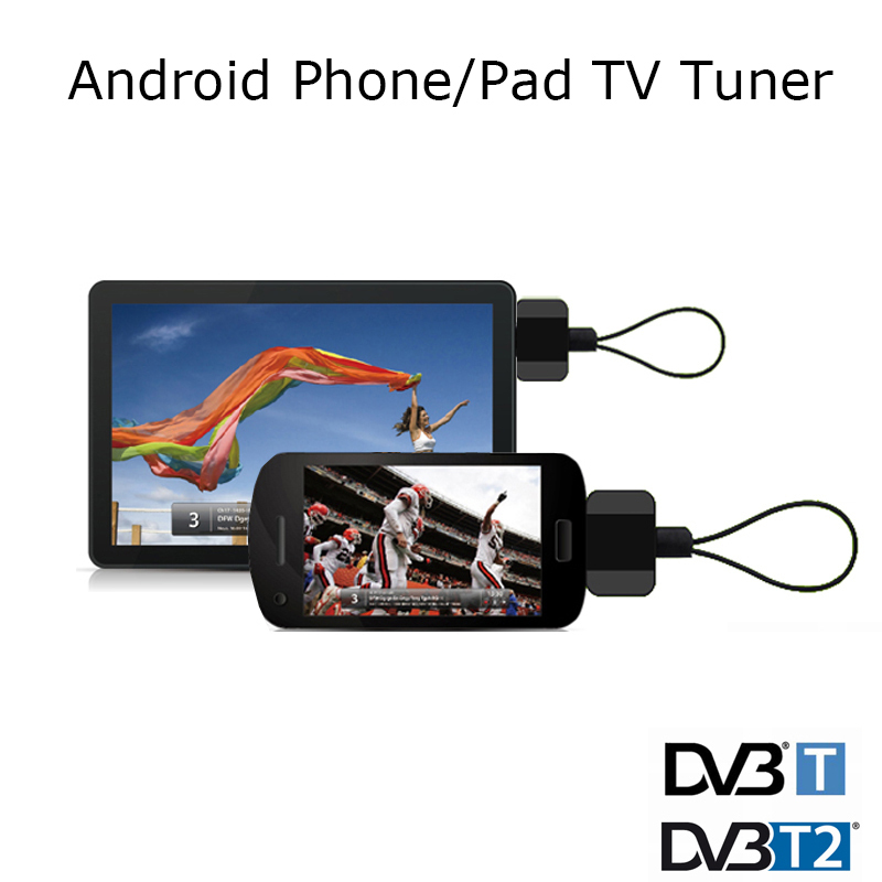 DVB-T2 DVB-T TV Tuner DVB T2 USB Digital TV Receiver USB Dongle To Watch Live TV For Android Pad Phone Tablet PC(China (Mainland))