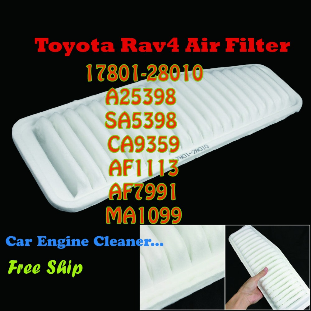 17801-28010 CA9359 A2935C Air Filter Toyota Rav4 Automatic Car Engine Cleaner(China (Mainland))