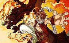 Free shipping Fairy Tail Natsu Dragneel font b Japan b font font b Anime b font