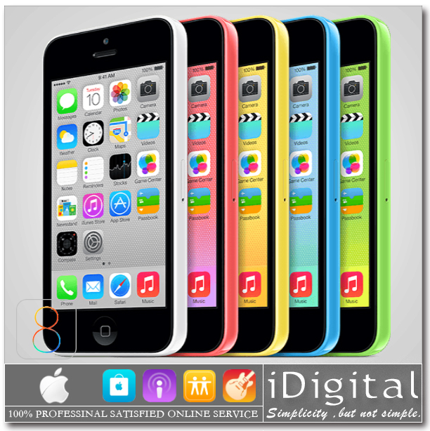 Мобильный телефон apple iPhone 5C 1 16 /32 4.0 IPS IOS 8 8MP 1080 p 3 g ноутбук lenovo ideapad 710s plus 13ikb 13 3 1920x1080 intel core i7 7500u 80w3000crk