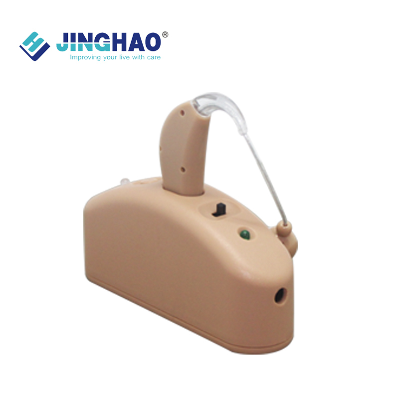 Sound Amplifier Adjustable Tone Hearing Aids BTE Rechargeable Hearing Aid Ear Plug Deaf Device High Quantily JH 337<br><br>Aliexpress