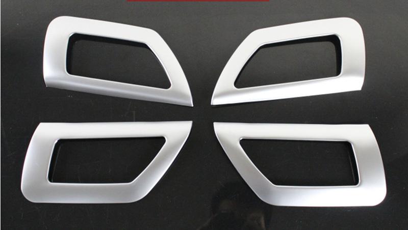 ABS chrome door Inner Interior Handle Cover Trim For 2013 Suzuki SX4 S cross 4pcs per set<br><br>Aliexpress