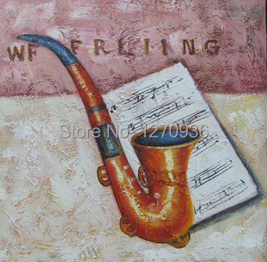 Dafen Wholesale Price Good Quality Modern Tobacco Pipe Oil Painting on Canvas(China (Mainland))