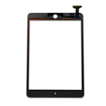 5 pcs Black or White Border Touch Screen Digitizer Glass Front Glass without Home Button Assembly