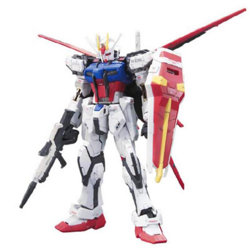 Starz BANDAI RG 1/144 AILE STRIKE GUNDAM SEED GAT-X 105 Model Anime Building Kits Figures Colletion Toys