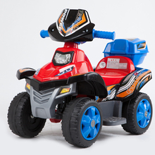 Ridley buggiest child electric motorcycle electric bicycle child tricycle four wheel baby toy car(China (Mainland))