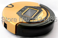 3.5 inch LCD display robotic dust cleaner vary cleaning modes,500ml dust capacity,free you from exhausted housework,speed 19cm(China (Mainland))