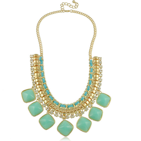 Newest Fashion Statement Necklaces for Women Fashion Jewelry Necklaces (Mix Minimum order is 10USD)