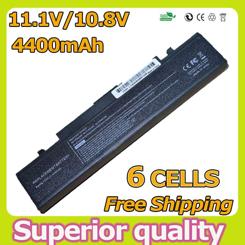4400MAh Battery for Samsung R525 R468 R428 R528 R470 R480 R510 R503 R507 R540 R462 X360 X460 R780 AA-PB9NC6B PB9NC6W NP-R540E(China (Mainland))
