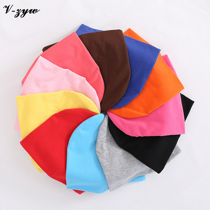 1pc Baby Hat Children Baby Caps Cotton Unisex Girls Boys Hats Newborn Photography Props Candy Color Beanies Accessories YS001(China (Mainland))