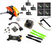 DIY FPV mini drone Robocat 270 quad Fiberglass / carbon frame kit NAZE32 10DOF+EMAX 2204II 2300KV + BL12A ESC oneshot125+ camera