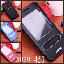 Original Flip Cover for Asus Zenfone 4 (4.5 inch) A450CG Case Matte Super Shield Plastic Hard Back Cover Case for A450CG (China (Mainland))