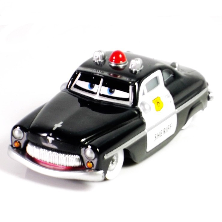 Pixar Cars Sheriff Metal Diecast Toy Car 1:55 Loose Brand New In Stock & Free Shipping GJ331(China (Mainland))