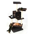 Domestic Delivery Cat Toy Climbing Tree Pet Furniture Cat Scratching Post Climbing Frame Pet House 3