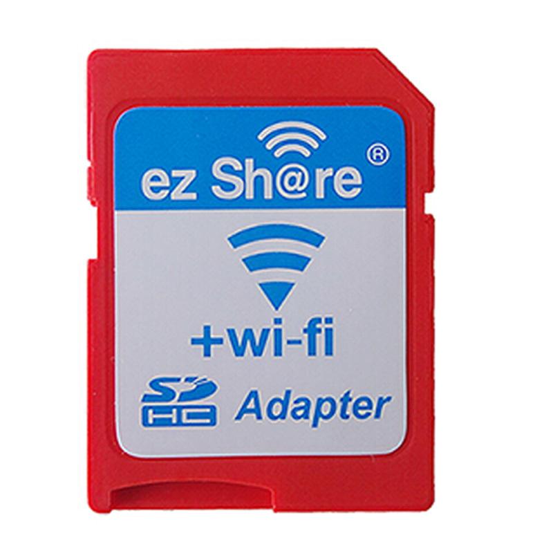 ezshare micro sd adapter wifi wireless memory card TF MicroSD adapter WiFi SD card free ride support 8gb 16GB 32GB(China (Mainland))